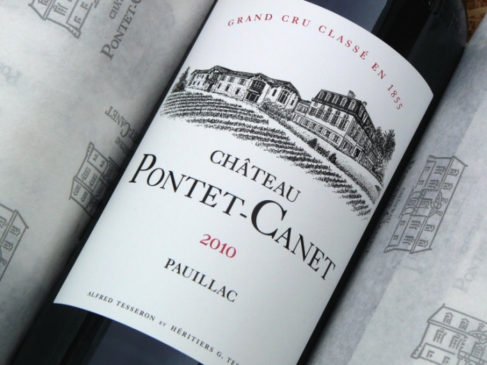 Chateau Pontet Canet 2010, Magnum , Bordeauxwein, Rotwein