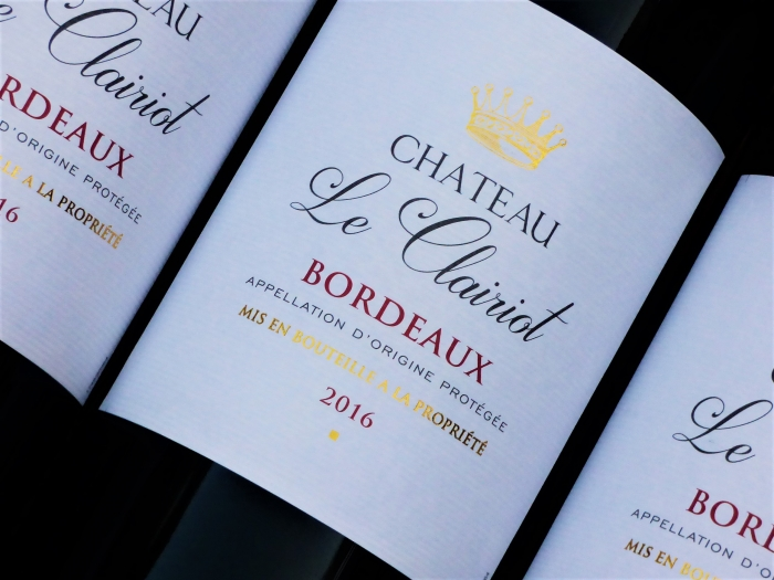 Chateau Le Clariot 2014, Bordeauxwein, Rotwein
