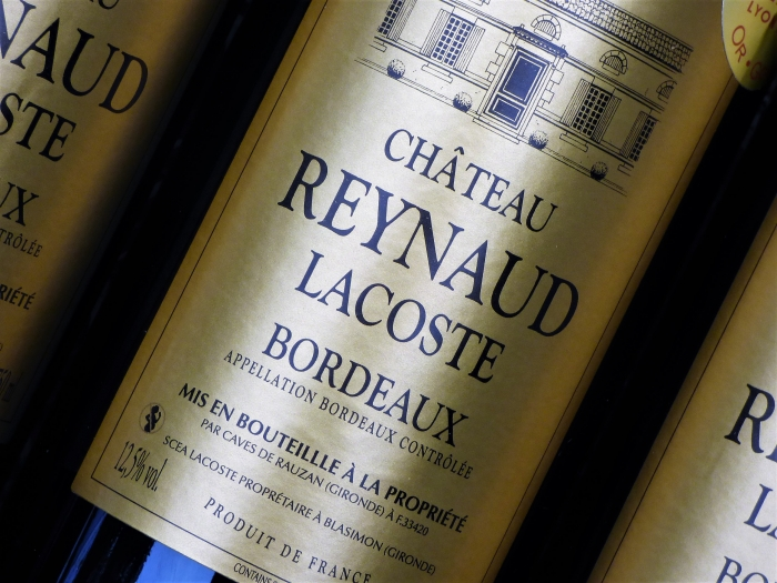 Bordeaux Rotwein Chateau Reynaud 2017