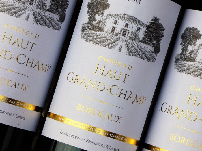Chateau Haut Grand Champ 2015