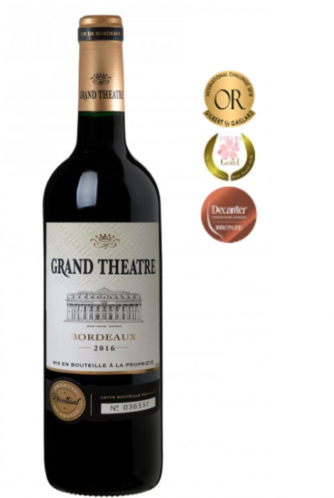 Bordeaux Wein Grand Theatre 2016, Rotwein
